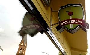 En av Berlins många ekologiska mataffärer. Foto: Berlinow.com