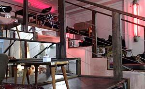Mein Haus am See, ett café vid Rosenthaler Platz i Berlin. Foto: Berlinow.com