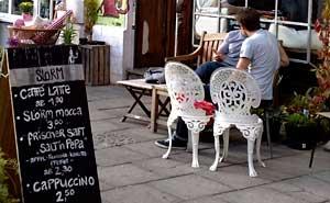 Slörm Espresso Café, Prenzlauer Berg. Foto: Berlinow.com