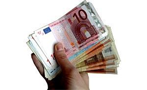Eurosedlar. Foto: Berlinow.com