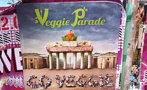 """""""Veggie Parade"""" i Berlin äger rum lördagen den 18 juni. Foto: Berlinow.com"""
