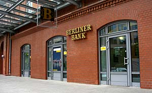 Berliner Bank (arkiv). Foto: Thomas Quine/flickr
