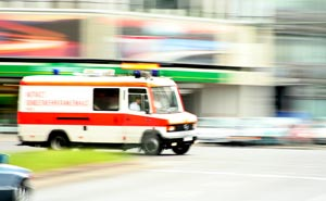 Ambulans i Berlin (arkiv). Foto: Till Krech/flickr