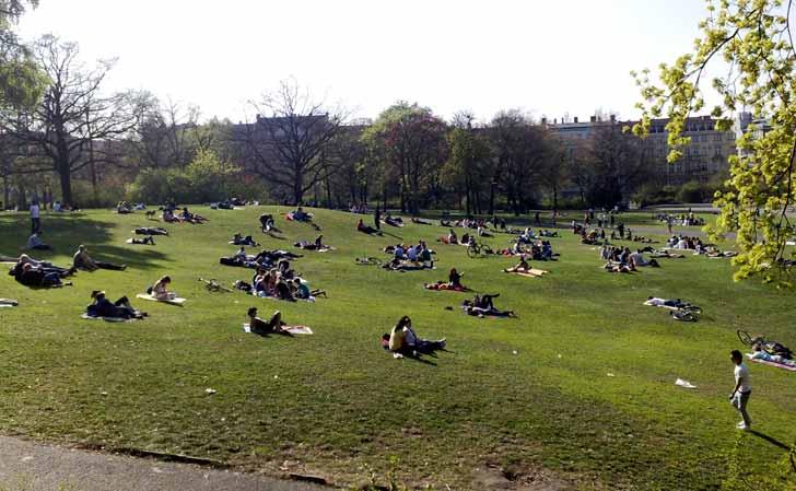 Viktoriapark, Kreuzberg. Foto: Berlinow.com