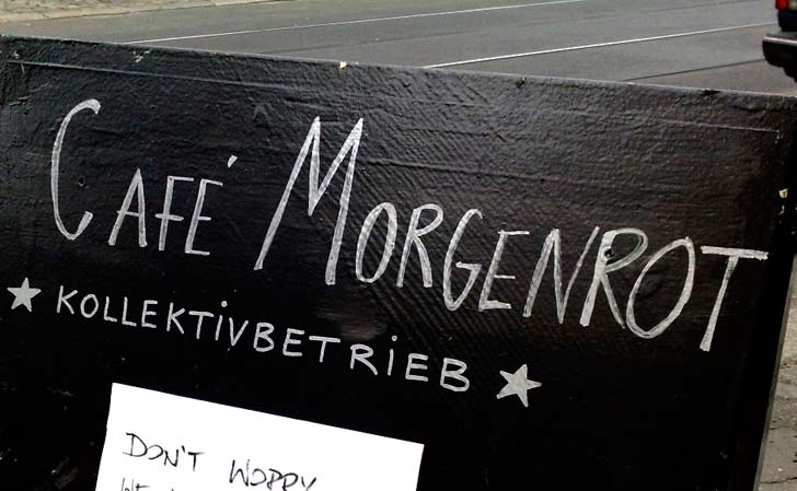 Morgenrot, Prenzlauer Berg, Berlin