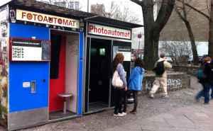 Fotoautomaten på Kastanienallee, Prenzlauer Berg, Berlin